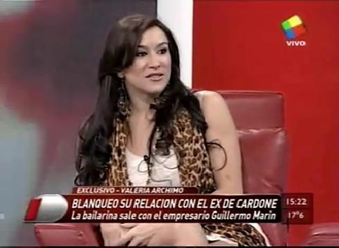 Valeria Archimó habló de su relación con el ex de Daniela Cardone (Segunda parte)