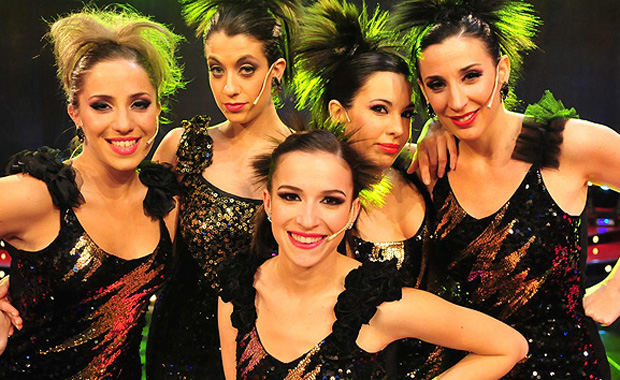 Sofía Pachano deslumbró en el musical de Sábado Show