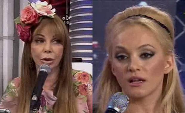 La feroz pelea de Graciela Alfano y María Eugenia Ritó en Bailando