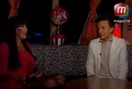 Moria Casán y Palito Ortega: divertida charla sobre el romance de sus hijos