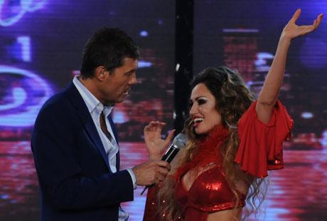 """Belén Francese acusó de """"lento"""" a Marcelo Tinelli"""