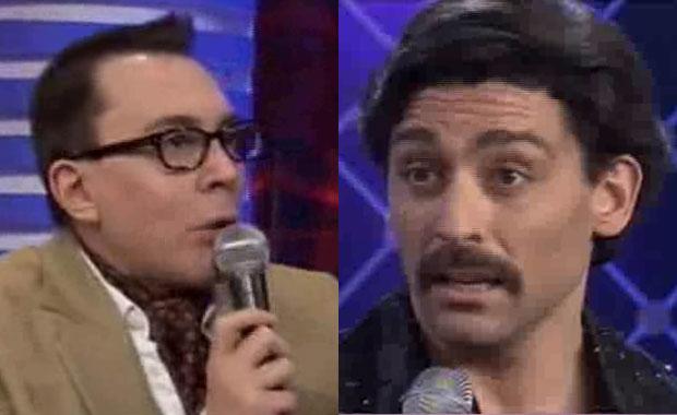 Marcelo Polino y Hernán Piquín: fuerte cruce en Bailando