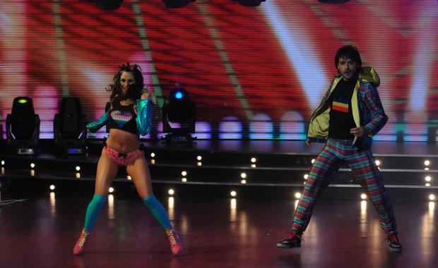 Pedro Alfonso se lució en el electro dance de Bailando 2011