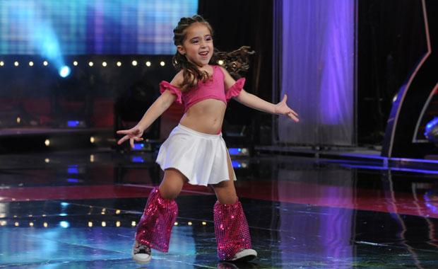El increíble baile de una nena de seis años que hace furor