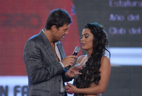 Larissa Riquelme y Jonathan Fabbro hablaron de su amor con Marcelo Tinelli