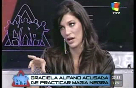 Silvina Escudero acusa a Graciela Alfano de hacerle magia negra