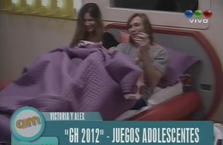 Victoria y Alex coquetearon en Gran Hermano 2012