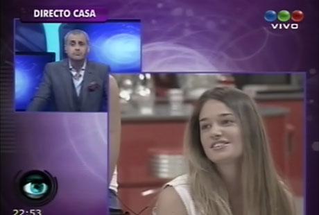 Picante ida y vuelta entre Jorge Rial, Ezequiel y Victoria en Gran Hermano 2012