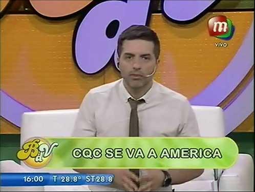 CQC, ¿Vuelve a América?
