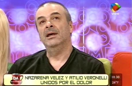 El dolor de Atilio Veronelli tras la muerte de su hijo