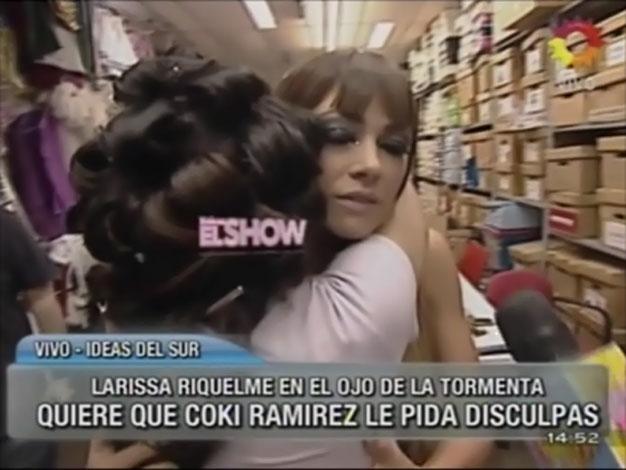 Larissa Riquelme abrazó a Coki Ramírez: ¿Hubo reconciliación?