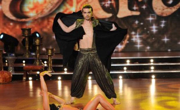 Peter Alfonso bailó el duelo en Bailando 2011