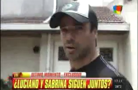 Luciano Castro rompió el silencio y habló de la supuesta crisis con Sabrina Rojas