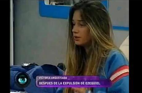 Gran Hermano 2012: la depresión de Victoria, tras la partida de Ezequiel