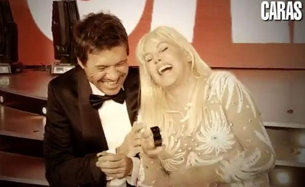 Marcelo Tinelli y Susana Giménez: el divertido backstage de su encuentro