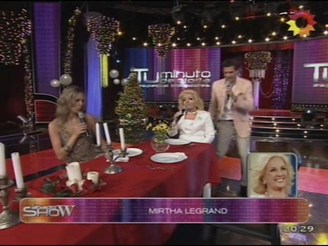 La imitación de Mirtha Legrand en Sábado Show