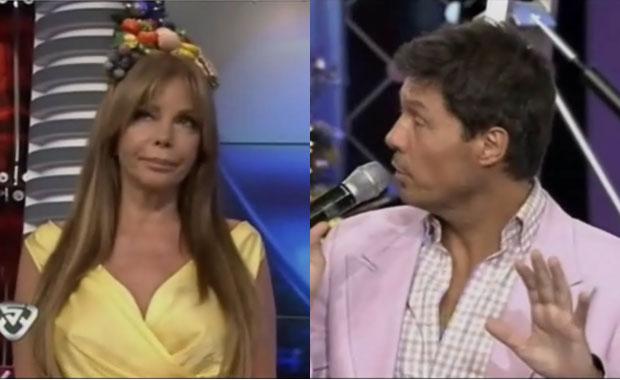 Escándalo con Graciela Alfano en el corte de ShowMatch por un mensaje en Twitter