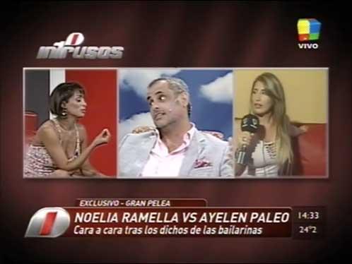 Noelia Ramella y Ayelén Paleo: la pelea (bizarra) del año