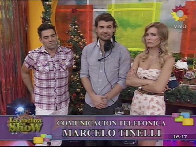 Marcelo Tinelli emocionadísimo en La cocina del show, parte 3