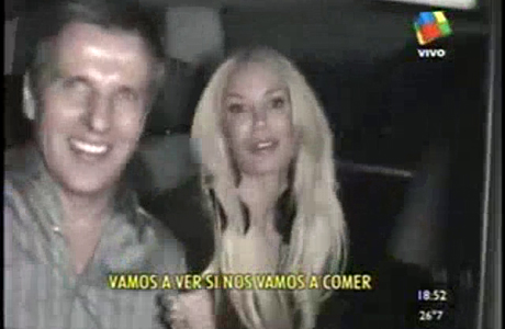 El primer video de Luciana Salazar y Martín Redrado, juntos