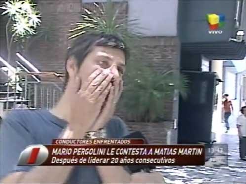 Mario Pergolini respondió las críticas de Matías Martin