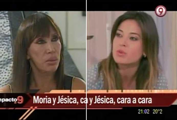 Moria Casán y Jésica Cirio, cara a cara tras su escandalosa pelea