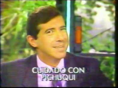 Los memorables grafittis de Pichuqui Mendizabal en Fax