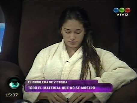 GH polémico: mostraron imágenes del trastorno alimenticio de Victoria