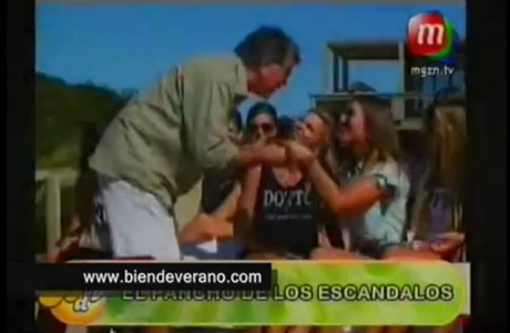 El video del papelón de Pancho Dotto, celoso del creador de Facebook