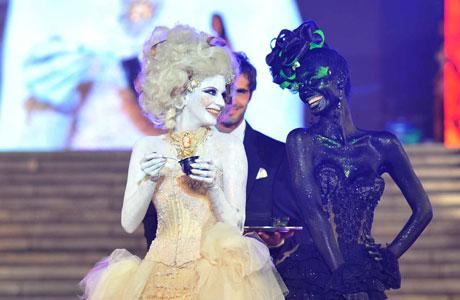 Marcela Kloosterboer y Paula Morales en Mar del Plata Moda Show