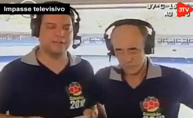 Tremendo: famoso comentarista de fútbol se desmaya en vivo
