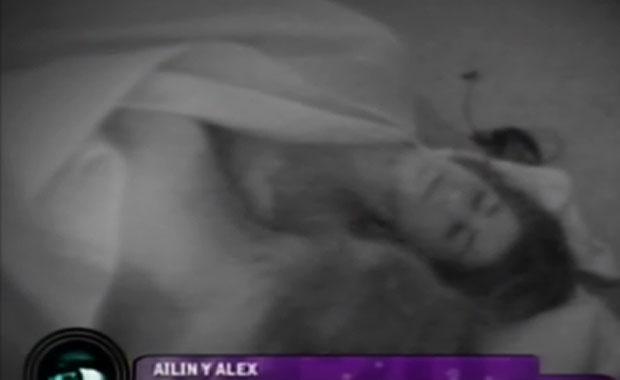 """Ailín y Alex: la nueva (y sorpresiva) pareja """"hot"""" de Gran Hermano 2012"""