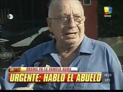 """El abuelo de Wanda y Zaira Nara desmintió su """"pobreza"""" con boletas ante Infama"""