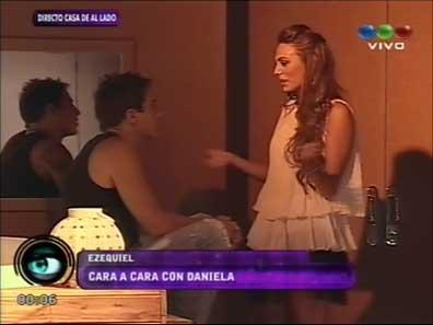 GH 2012: Daniela increpó a Ezequiel, tras su salida de la casa
