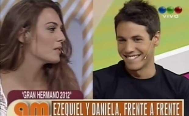 Gran Hermano 2012: Ezequiel habló del triángulo amoroso con Victoria y Daniela