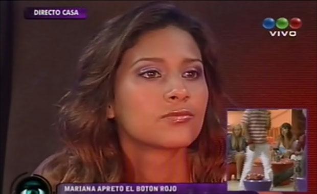 GH 2012: Mariana apretó el botón rojo y se va de la casa