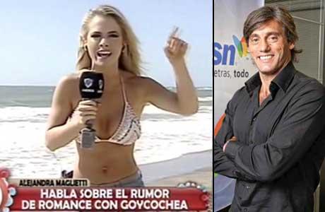 Alejandra Maglietti, enfurecida con los rumores de romance con Sergio Goycochea