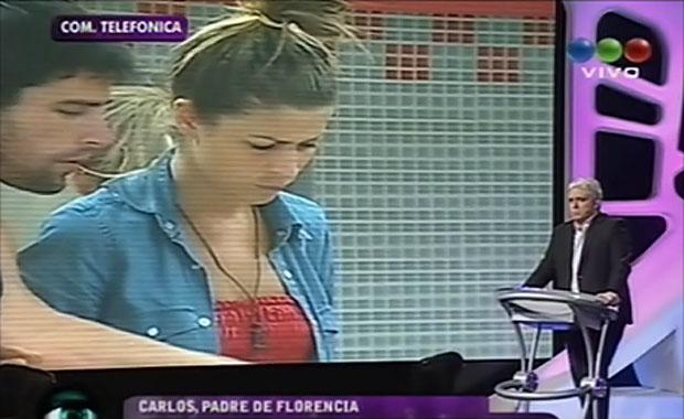GH 2012: tras el escándalo, el padre de Florencia destruyó a Tomasito