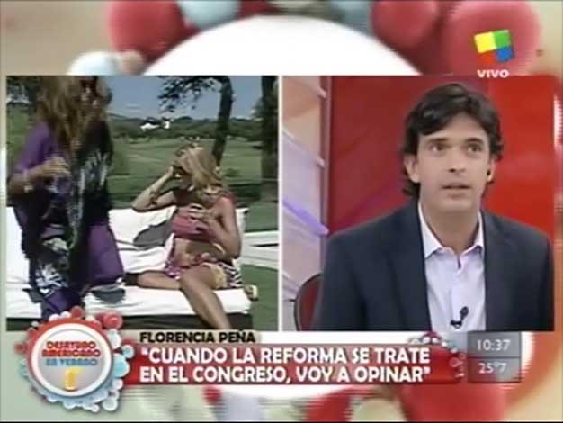 Florencia Peña se enojó con Desayuno americano y abandonó el móvil…