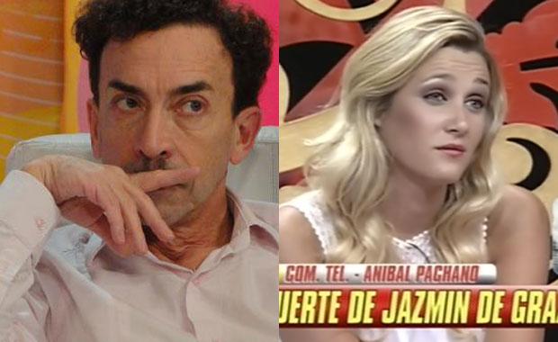 Escandalosa pelea entre Aníbal Pachano y una modelo por Jazmín De Grazia