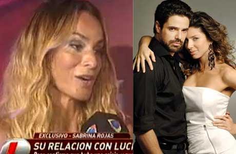 Sabrina Rojas habló de Luciano Castro y también de Romina Gaetani