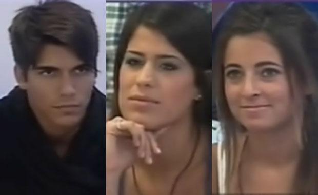 Leandro, Ailín y Agustina, nominados en GH 2012