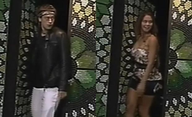 Nazareno y Noelia reingresaron a GH 2012: mirá la reacción de los chicos