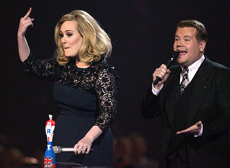 Adele ganó el Brit Award a mejor álbum