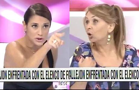 María Fernanda Callejón vs. Evelyn von Brocke: escandalosa pelea en TV