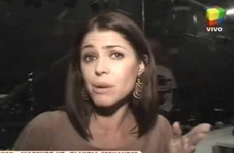 Pamela David habló de su encontronazo al aire con Claudia Fernández