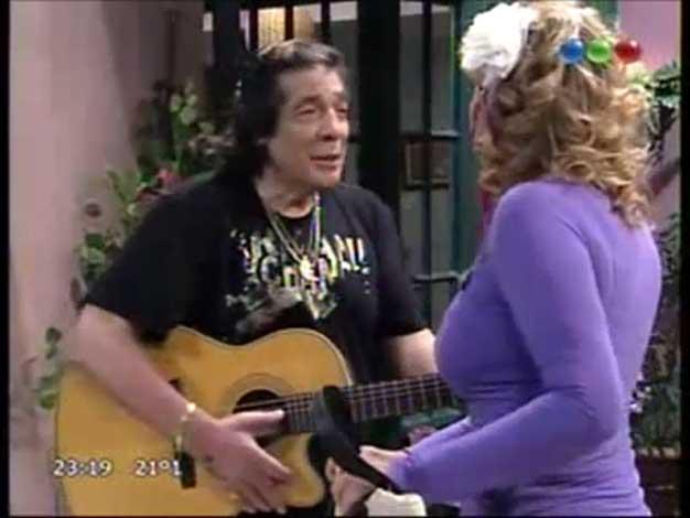 Así fue el especial debut de Cacho Castaña en Dulce Amor