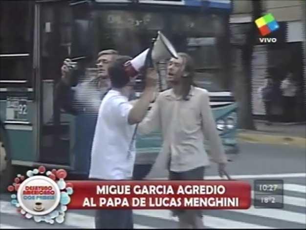 Papelón de Migue García con familiares de la tragedia de Once