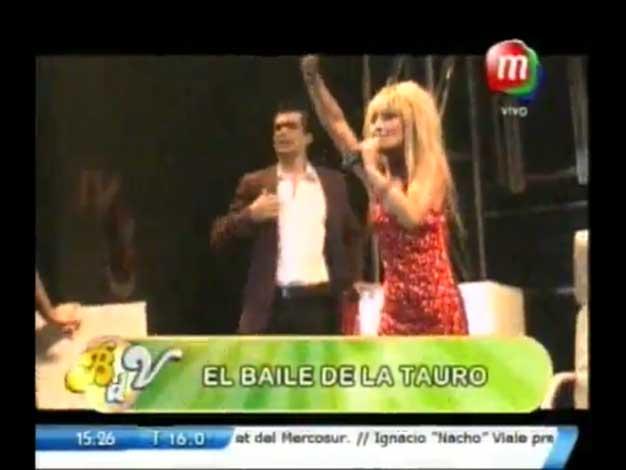 Tinelli, teléfono: el llamativo musical de Marcela Tauro en una disco