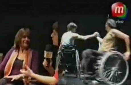 Bailando 2012: así será el baile en silla de ruedas